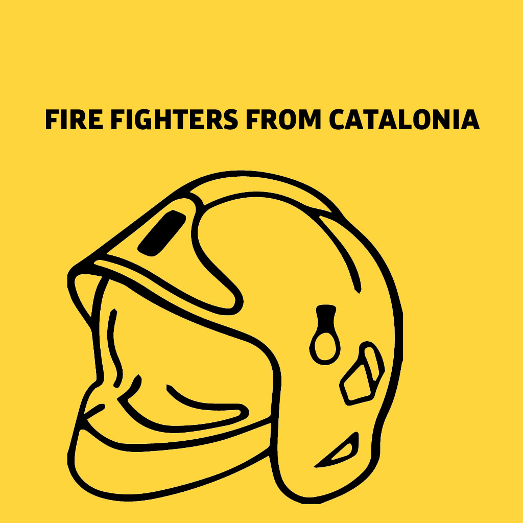 FIRE FIGHTERS FROM CATALONIA